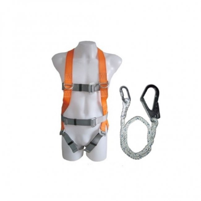 Full Harness With Single Lanyard (700-107,700-056)