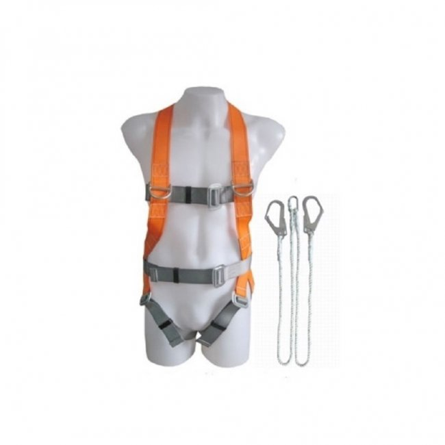 Full Harness With Double Lanyard (700-107,700-057)